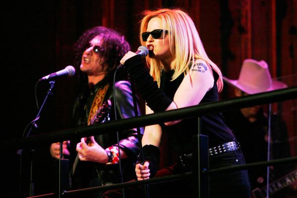 Leanne Kingwell and John Keskeridis on ROVE Live - Photo courtesy of ROVE Live.
